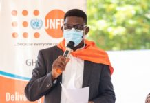 Mr Niyi Ojuolape, Country Representative of UNFPA Ghana.