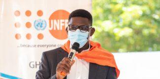 Mr Niyi Ojuolape, Country Representative of UNFPA Ghana.