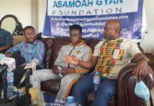 Samuel Takyi Applauds Asamoah Gyan Foundation