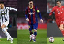 Messi, Ronaldo And Lewandowski Nominated