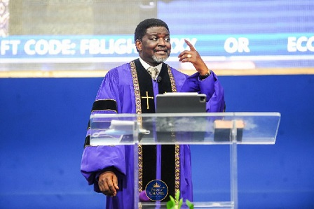 Most Reverend Dr Charles Agyinasare