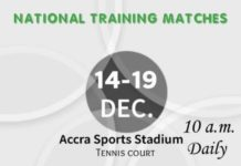 National Training Matches