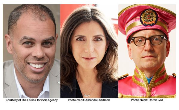 Jesse Collins, Stacey Sher And Steven Soderbergh