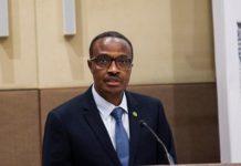 Rwandan Defense Minister Albert Murasira