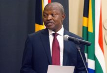 South African Deputy President David Mabuza