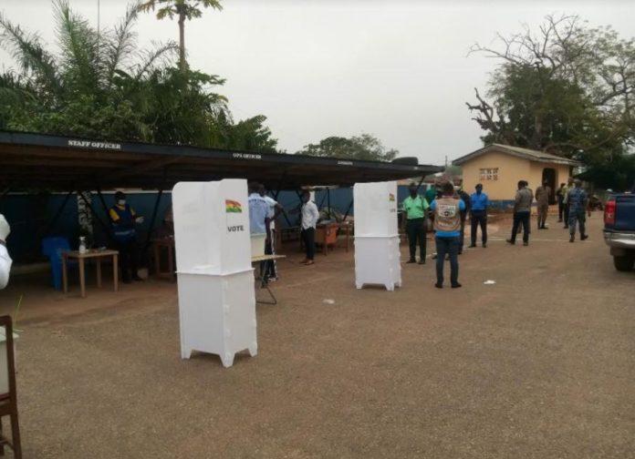 Special Voting Begins In Sunyani East