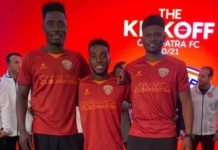 Three Ghanaian Stars