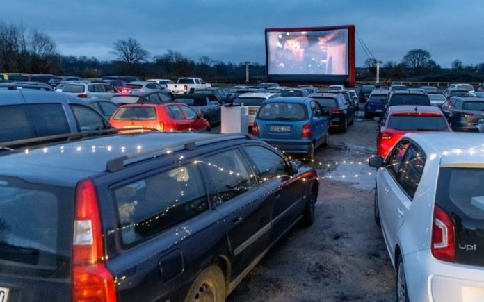 Drive-in Christmas services