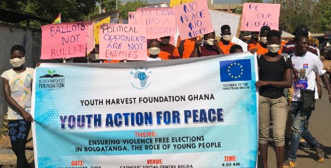 The 2020 peaceful election route match organized by YHFG in UER