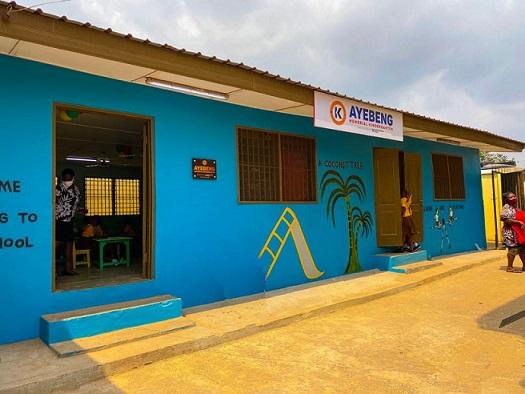 Ayebeng Memorial Kindergarten Block