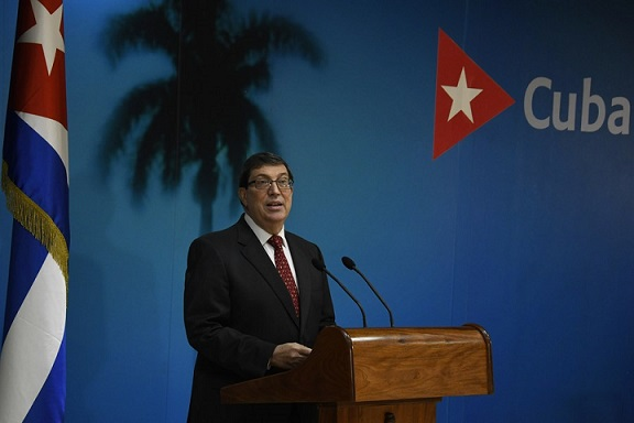 Cuban Foreign Affairs Minister Bruno Rodriguez