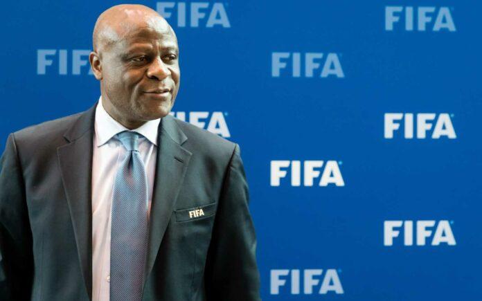 Constant Omari, caretaker president of the African Football Confederation