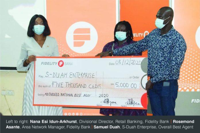 Fidelity Bank awarded