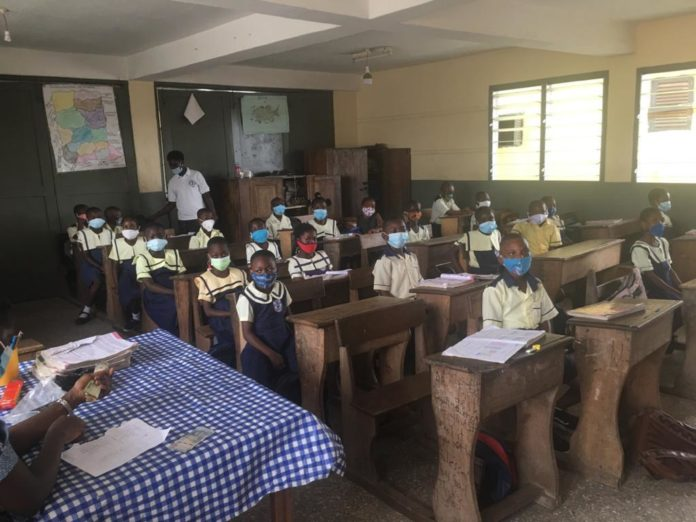 Schools Reopening Takoradi