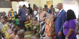 His Majesty Otumfo Osei Tutu Ii