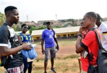 Bright Addae Foundation Visits Supreme Ladies FC Training Grounds