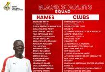 Coach Ben Fokuo names final squad