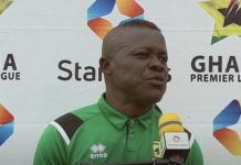 Johnson Smith Interim Head Coach Of Asante Kotoko