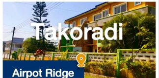 Airport Ridge in Takoradi