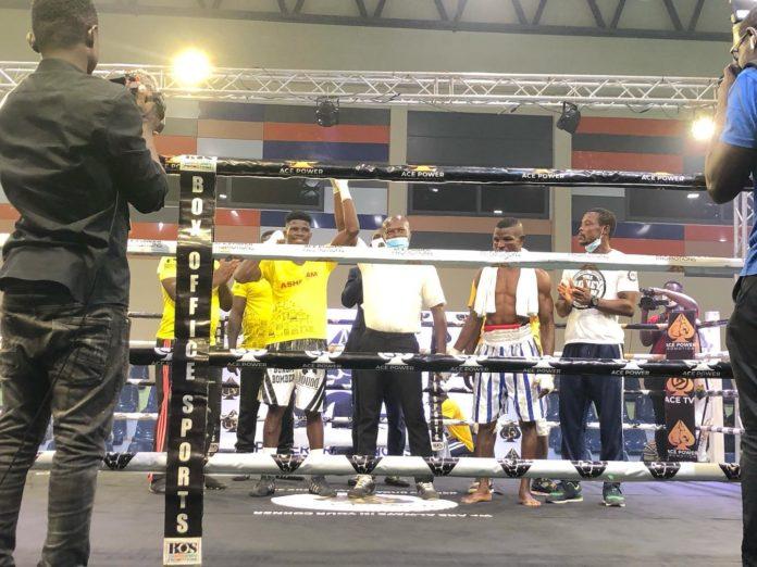 Alfred 'Bukom Bomber' Lamptey wins