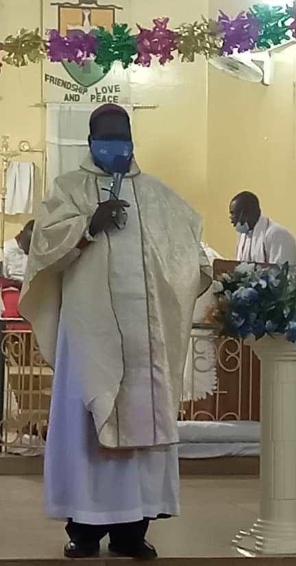 Right Reverend Dennis Debukari Tong