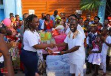 NGO donates