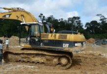 Taskforce Confiscate Excavators