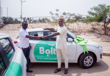 Adam Okens Receiving His Bolt Brand New Car