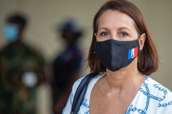 HE Anne Sophie Ave, French ambassador to Ghana