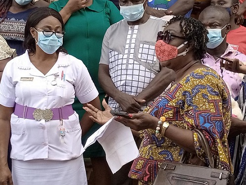 Health Minister Donation