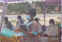 Miss Eve Passa, North Dayi District Health Director