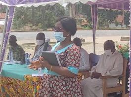 Miss Eve Passa, North Dayi District Health Director