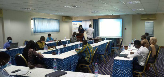 Presentation section at the workshop