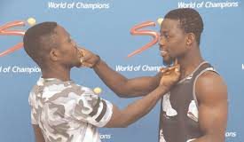 Michael 'one Bullet Ansah And Sheriff 'one Time Quaye