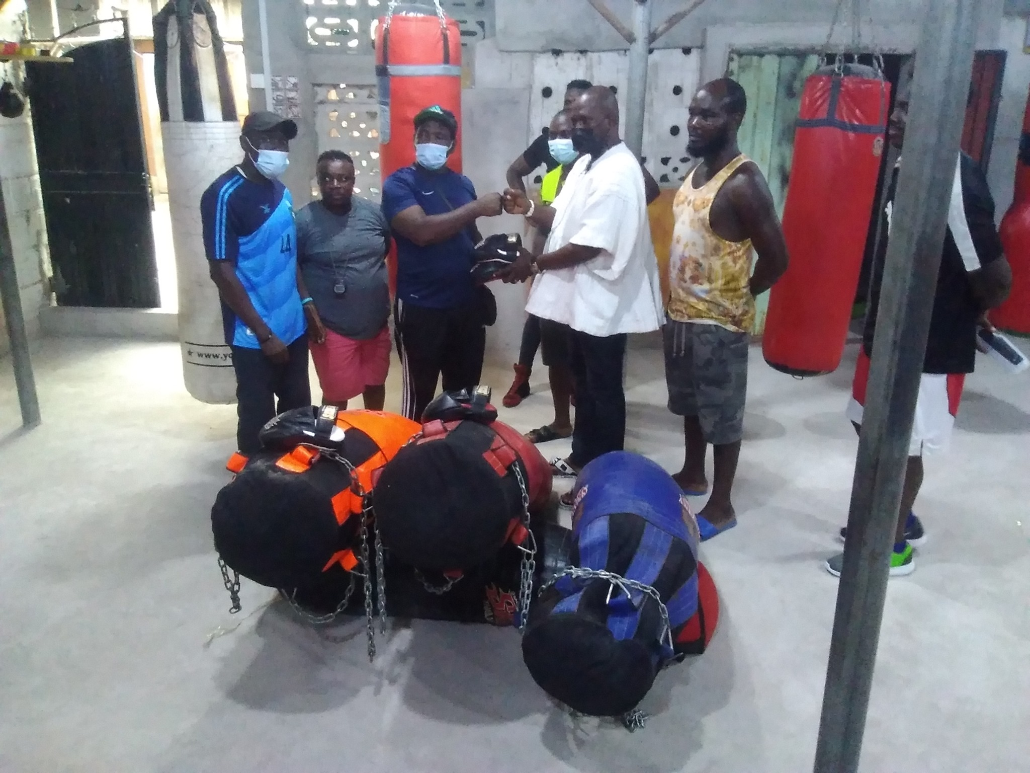 Pro Fighting Factory donates to Wisdom Boxing