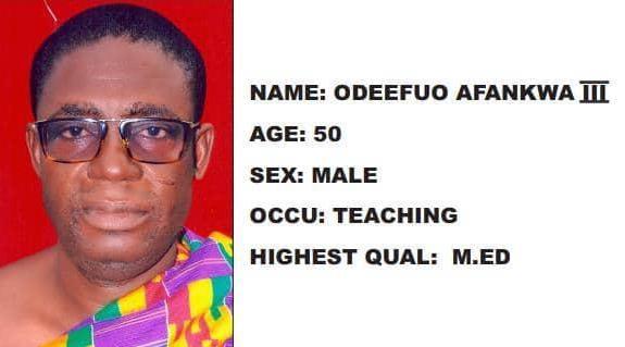 Odeefuo Afankwa Iii