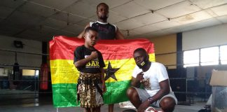 Issaka Issah donates