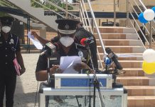 Inspector-General of Police (IGP), Mr James Oppong-Boanuh