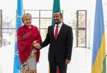 United Nations Deputy Secretary General meets with Prime Minister Abiy Ahmed (courtesy ethiopia.un.org
