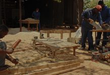 Under My Umbrella Zambia Carpenters Drk