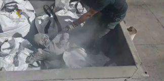 broken glass, toxic ash