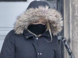 © Jane Barlow Jaclyn McGowan leaves Perth Sheriff Court (Jane Barlow/PA)