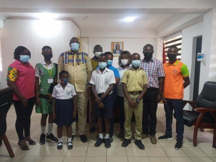 Minister and Children