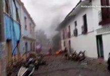 Colombia car bomb blast