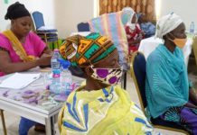 Female agricultural extension volunteers