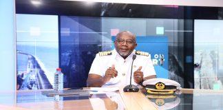 Harbour Master, Capt. Francis Kwesi Micah speaking on Eye on Port