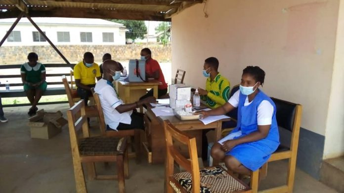 Health Workers Jab