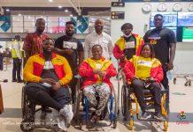 Ghana's Para Powerlifting Team