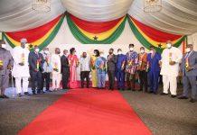 President Nana Addo Dankwa Akufo-Addo and New Ministers