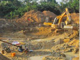 illegal mining